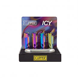 İsme Özel Çakmak Clipper Metal ICY