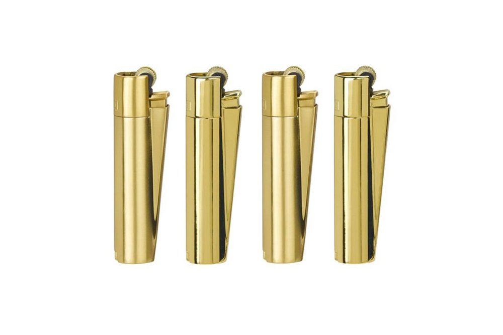 Clipper Gold Ağır metal çakmak 12li