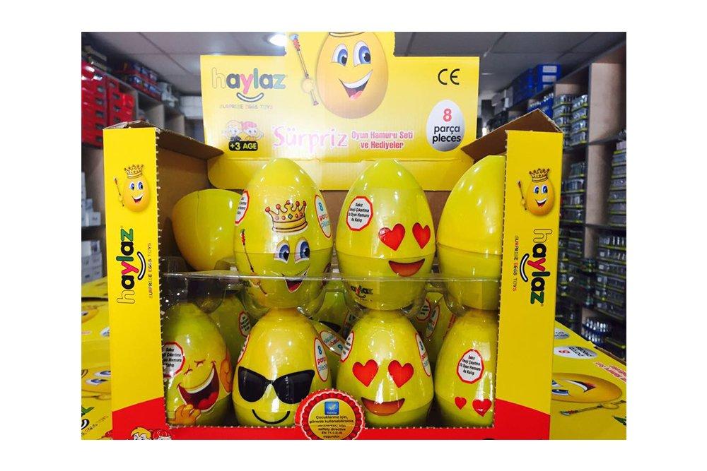 haylaz 8 parça sürpriz yumurta 24lü
