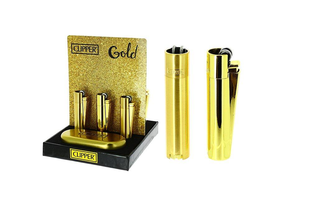 İsme Özel Çakmak Clipper Gold