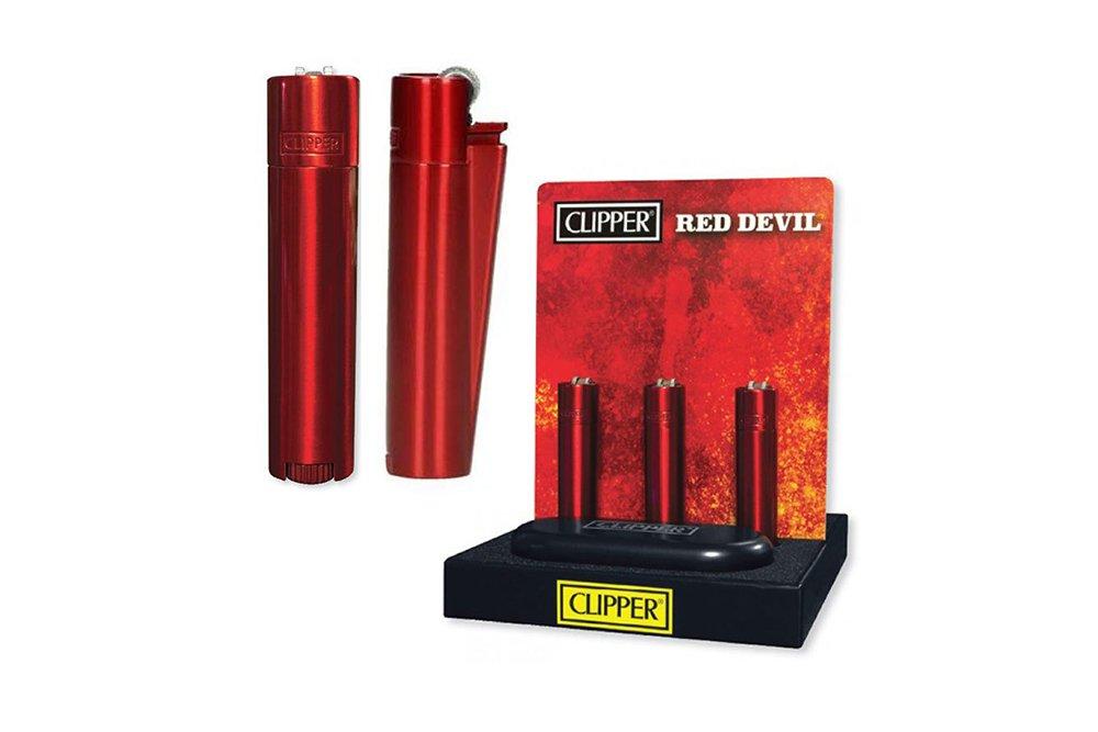 İsme Özel Çakmak Clipper Red Devil