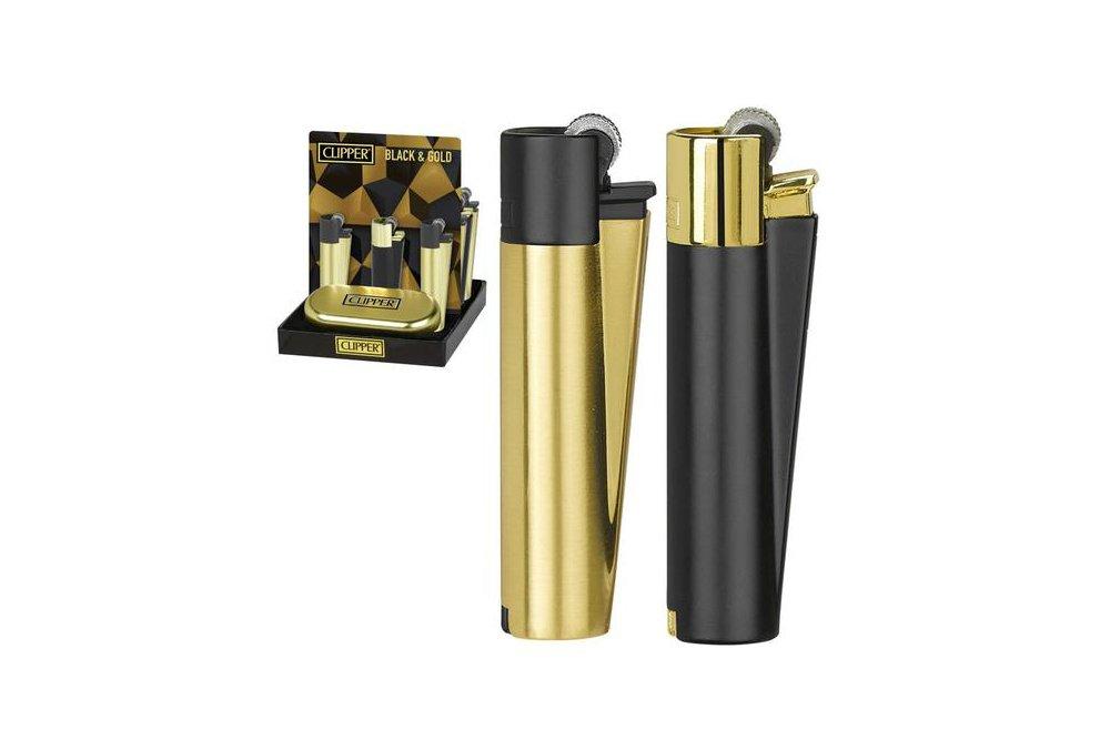 İsme Özel Clipper Black and Gold